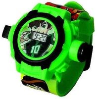 Lotus 24 Images Ben 10 Projector Watch For Kids (Multicolor)