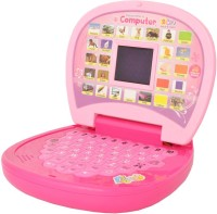 Baby World English Learner Laptop With LED Screen (Pink)
