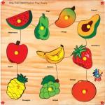 Skillofun Learning & Educational Toys Skillofun King Size Identification Tray Fruits