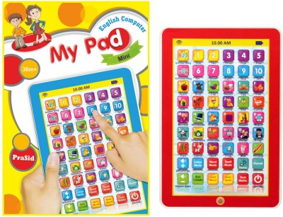 Prasid English Learner My Pad Mini For Kids (Multicolor)