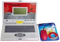 Gift World Educational Laptop With 80 Activities,Mouse, Earphones And CD Drive (Pink)