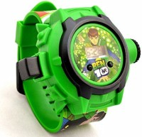 Plantech Ben 10 Kids Projector Watch (Multicolor)