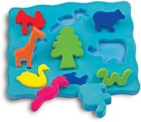 Rubbabu 3D Shape Sorter Animal Shapes (Multicolor)