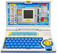 A R Enterprises Blue Pt English Learner Laptop For Kids 20 Activities (Multicolor)