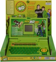 1st Home Ben10 English Learning Laptop (Multicolor)