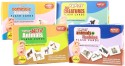 Mind Wealth Krazy Flash Cards - 4 Combo Range(Domestic Animals,Wild Animals,Sea Creatures,Animals&Babies) - Multicolor