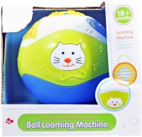 Babysid Collections Ball Learning Machine With Sound - 15 Cm Diameter (Multicolor)