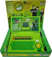 Taaza Garam Ben 10 English Learner Laptop (Green)