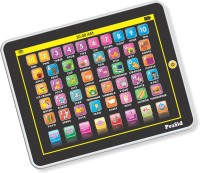 Prasid My Smart Pad English Learning Tablet For Kids - Indian Voice (Black, White)