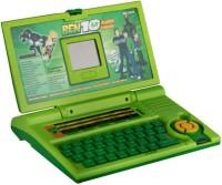 Zaprap Educational Ben10 Leaner Laptop For Kids With 20 Activities (Green)