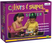 Creative's Colour And Shape Sorter Has 8 Shapes (Multicolor)