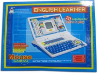 99DOTCOM Chind English Learner Educational Laptop 20 Activity (Multicolor)