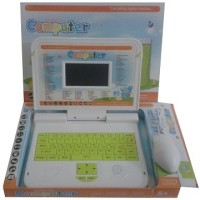 Jiada 80 Activities Learning Laptop (Multicolor)