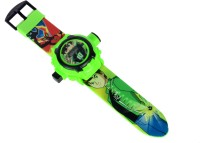 Tabu Ben-10 Digital Watch - For Boys (Green)