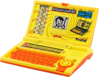 Prasid Kids English Learner Computer Toy Educational Laptop (Yellow, Orange)