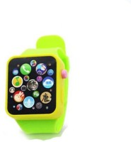 Baby World Non Toxic Musical Smart Watch Toy (Green)