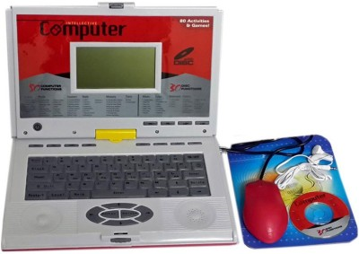 UV GLOBAL 80 Activities English Learning Laptop (Red)