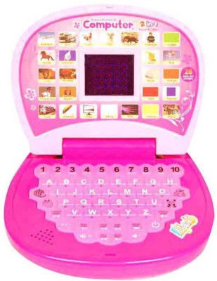 New Pinch Kids English Mini Laptop With Small Screen (Multicolor)