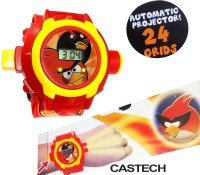 Plantech Angry Birds Kids Projector Watch (Multicolor)