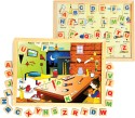 Skillofun Magnetic Twin Play Tray-Alphabet Attic