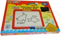 Dolly 2 In1 White Board For Drawing And Writing Slate + Free Colouring Book! - Multicolor