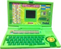 Prasid English Learner Laptop For Kids 20 Activities - Green