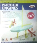 Annie Learning & Educational Toys Annie Rubber Band Powered Propeller Engines