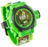 Homeshopeez Ben 10 Projector Watch With 36 Images (Multicolor)
