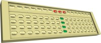 Indian Abacus Self Learning Pack With Tutor Manual - Flyers (5th Level) (White, Green, Red)