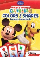 Disney Mickey Mouse Flash Cards (Set Of 2 Decks). Colors & Shapes And Numbers & Counting Learning Game (Multicolor)