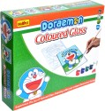 Buddyz Doraemon Do-it-Yourself Coloured Glass For Kids - Multicolor