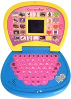 Zaprap Mini English Learner Laptop For Kids (Multicolor)
