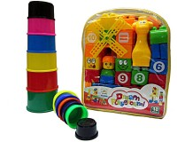V.T. Dream Playground Blocks With Stacking Tower (Multicolor)