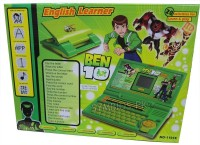 Shopaholic Ben - 10 English Learner Laptop For Kids (Green)