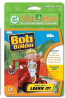 LeapFrog Enterprises Clickstart Educational Software:Bob The Builder, Project Learn It (Multicolor)