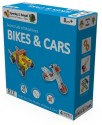 Sparky & Bright Secret Lab Of Machines - Bikes & Cars - 4 In 1 - Blue