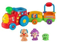 Fisher-Price Laugh & Learn Puppy's Smart Train (Multicolor)