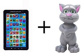 om P1000 Kids Educational Tablet With Talking Tom Combo