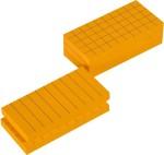 Kidken Learning & Educational Toys Kidken Montessori Yellow Prisms