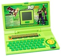 Shop & Shoppee Ben 10 Learner Laptop For Kids(Green) (Green)