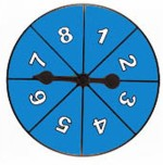 Math Buddy Labs Learning & Educational Toys Math Buddy Labs Spinner Wheel