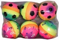 Smiles Creation Set Of 6 Soft Balls (Multicolor)