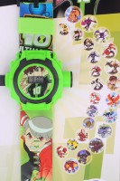Chamunda Gifts Ben10 Projector Watch (Green)