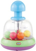 Little Tikes Lights N' Sounds Spinning Top- Green/ Purple (Multicolor)