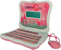 Zaprap Pink Intellective Talking Laptop With 36 Activities And Games Mouse Incl. (Pink)