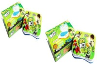 AQUARAS COMBO Ben 10 Talking English Learning Laptop Toy For Kids (Multicolor)