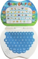 Rvold Mini English Learning Laptop Toy (Multicolor)