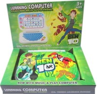 New Pinch Ben10 Mini English Learning Laptop (Multicolor)