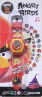Rahul Toys Angry Bird Projector Watch For Kids (Multicolor)
