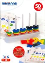 Miniland Educational Learning & Educational Toys Miniland Educational Abacus